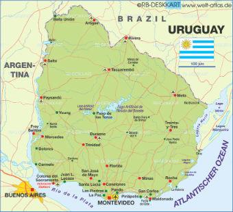 Uruguay, un país al que seguirle la pista