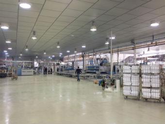 Puesta en marcha de la nueva lavandería industrial del grupo INDUSAL en La Rioja