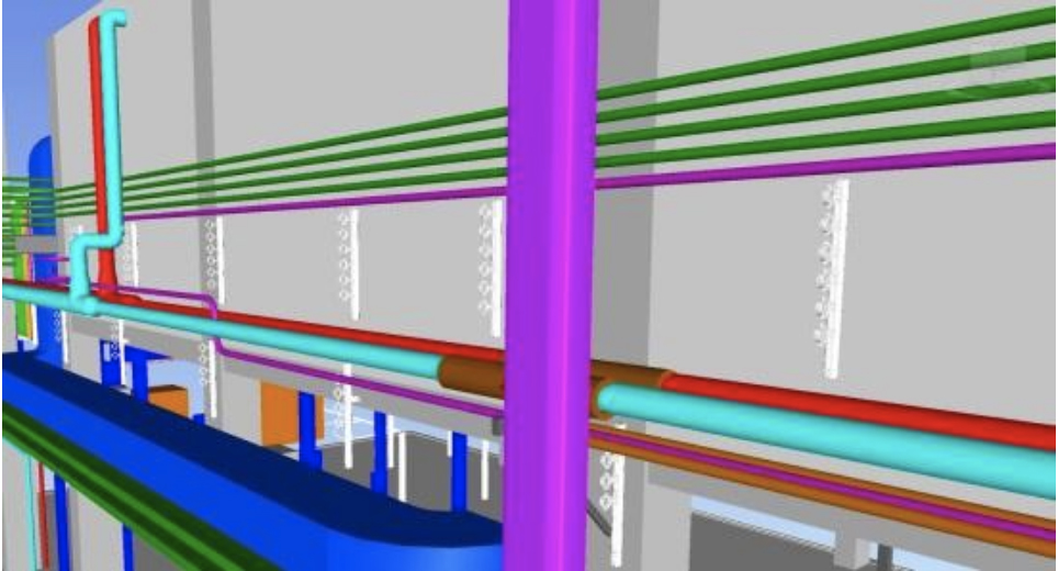 Detalle del modelo virtual 3D